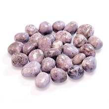 Lepidolite Tumbled Stones : Wholesale Tumble Stone : Buy Online From Soha Agate From India