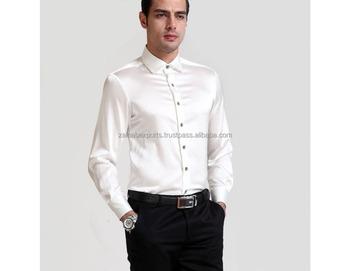 9d51acd6 Formal Men Fashion Party Wear Silk Blend Shirt For Men - Buy Unique ...
