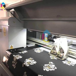 Second hand used digital textile printer with 4pcs dx5 printhead reactive ink print directly onto cotton/silk/polyester
