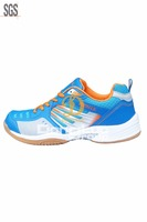 Low price man shoe in alibaba, update new badminton shoe design, strong high quality sports shoe