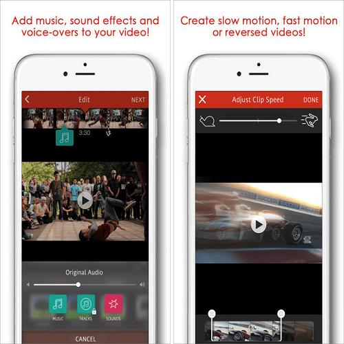 что фото под музыку приложение для айфона которым