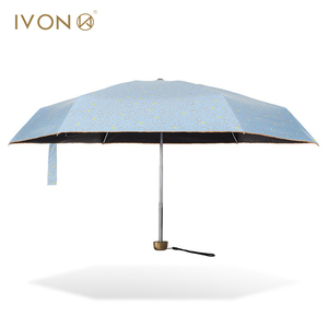 Waterproof small sky blue mini lace umbrella parasol