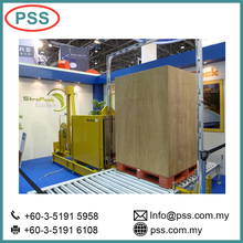 Malaysia Heavy Duty automatic pallet strapping machine with high retained