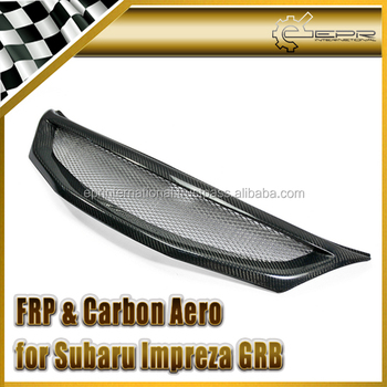 For Subaru Impreza GRB CS Style Carbon Front Grill