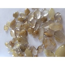 Intera vendita Golden Rutilato smooth <span class=keywords><strong>cabochon</strong></span>