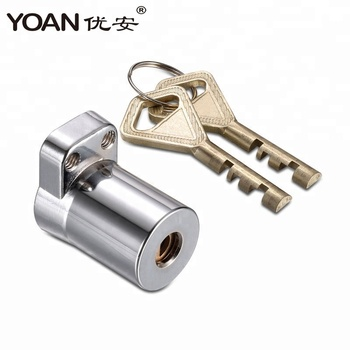 Zinc body brass cylinder disc high security cabinet hardware metal box mailbox door cam lock with grand master key system