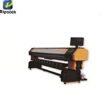 Human K-JET Digital inkjet Printer with KM512/42PL Printhead , KM512/14PL  Printheads,format Solvent printer, View Solvent printer, Human Product