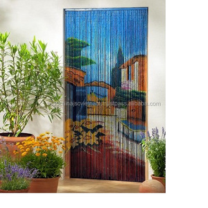 Vietnam beautiful hanging bamboo beads door curtains wholesale