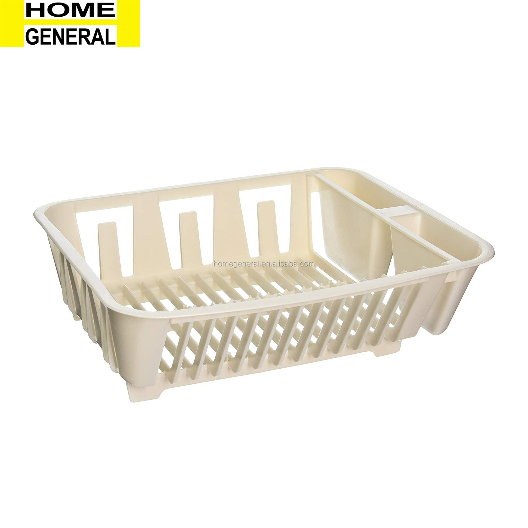 KITCHEN GENERAL PLASTIC DISH RACK CUTLERY HOLDER DRAINAGE RACK TABLEWARE RACK DISH WASHER RACK PLASTIC DISH DRAINER