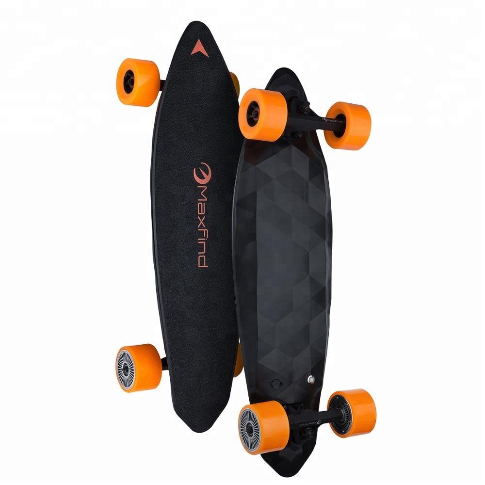 Electric Longboard 1200W Dual Motorized Skateboard with Wireless Remote Control