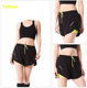 2017 New Women Fake Two Running Shorts 5 Color's Double Layer Breathable Quick Dry Sports Shorts Fitness Gym Shorts