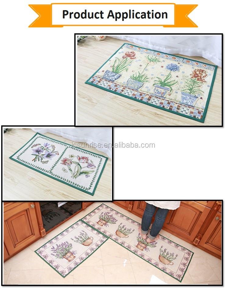 Home Decorative Kitchen Floor Mats Buy White Rubber