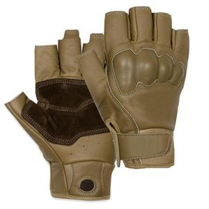 Top Quality Men Police Gloves Half Finger
