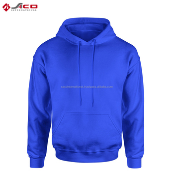 2018 Top Quality Best Plain Hoodies For Men's/ Custom Wear