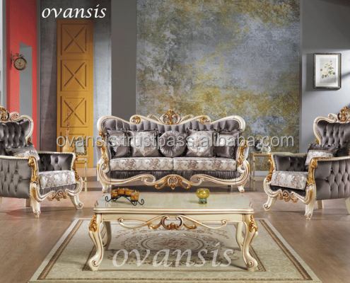 Luxury Classic Living Room Set/parts - Buy Antique Living Room Set ...