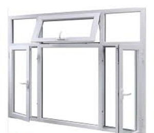 AS1288 AS2047 WERS container house use aluminium casement window with fire rated