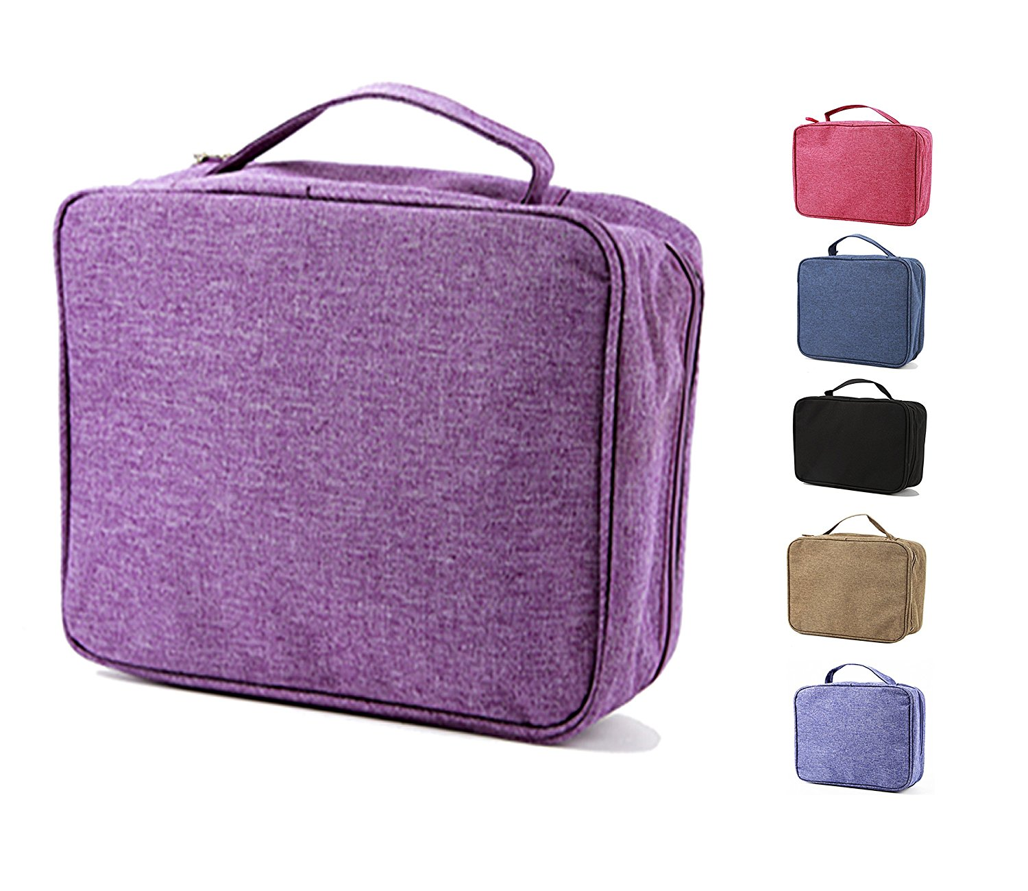 purifyou Classic Insulated Lunch Box - Compact, Easy Wash, Smooth Zipper & Lightweight - Tote Bag & Container, Lunch Bag for Men & Women - Lunchbox for Kids, Boys, Girls, & Adults