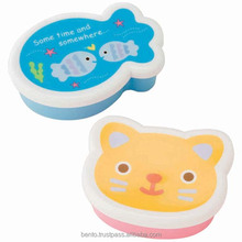 Made In Japan Quality tupperware boxes Cat Design Fish Design