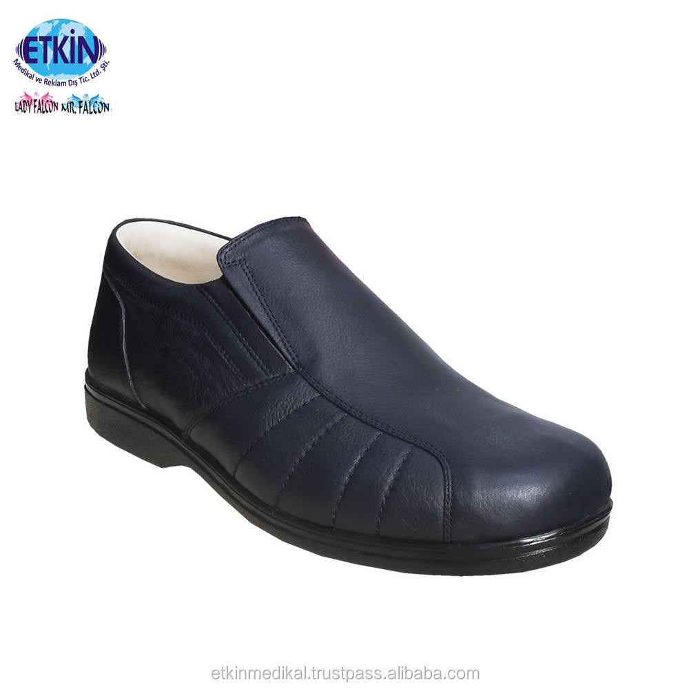 for With Quality Medical High Shoes Protection Diabetics Orthopedic Foot Mens Bgawfq0