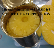 VIETNAM ORGANIC CANNED PINEAPPLE WHOLESALE DIRECT /Whatsapp: +84 938880463