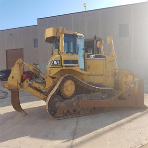 Used CAT D7H bulldozer D4 D5 D6 D7 D8 D9 with low price on hot sale in  shanghai+8618116482935