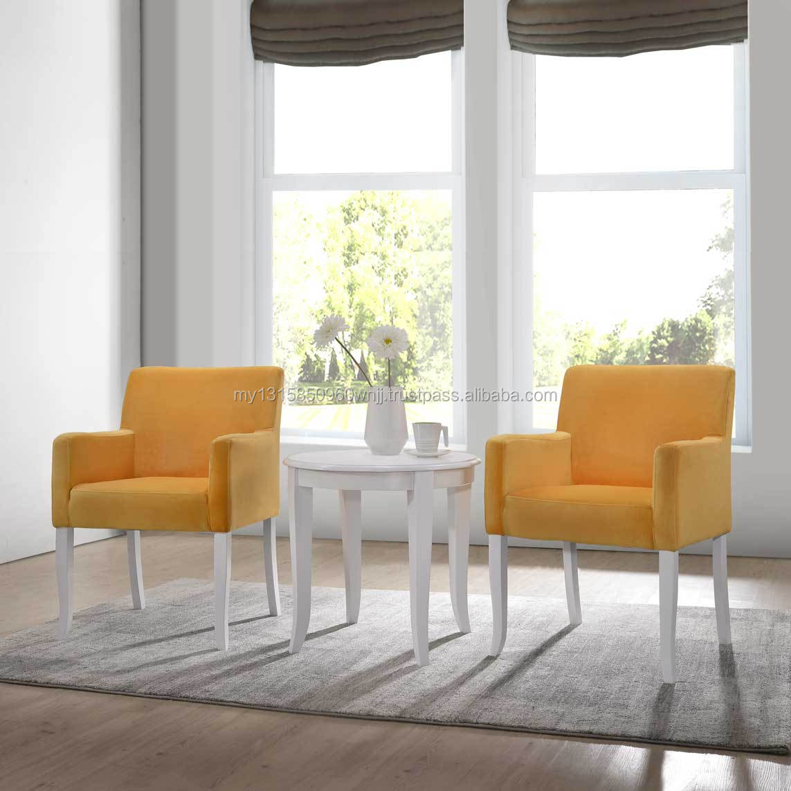 Velvet Accent Chair Living Room Sofa 3 Pieces Accent Armchair With End Table Set Buy Parsons Arm Chair Fabric Accent Chairs Hotel Accent Chairs