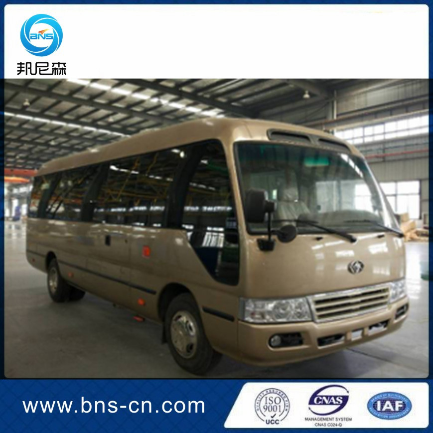 7M 18 Seat Luxury Swing Door Made In China New Coaster Mini Bus For Sale