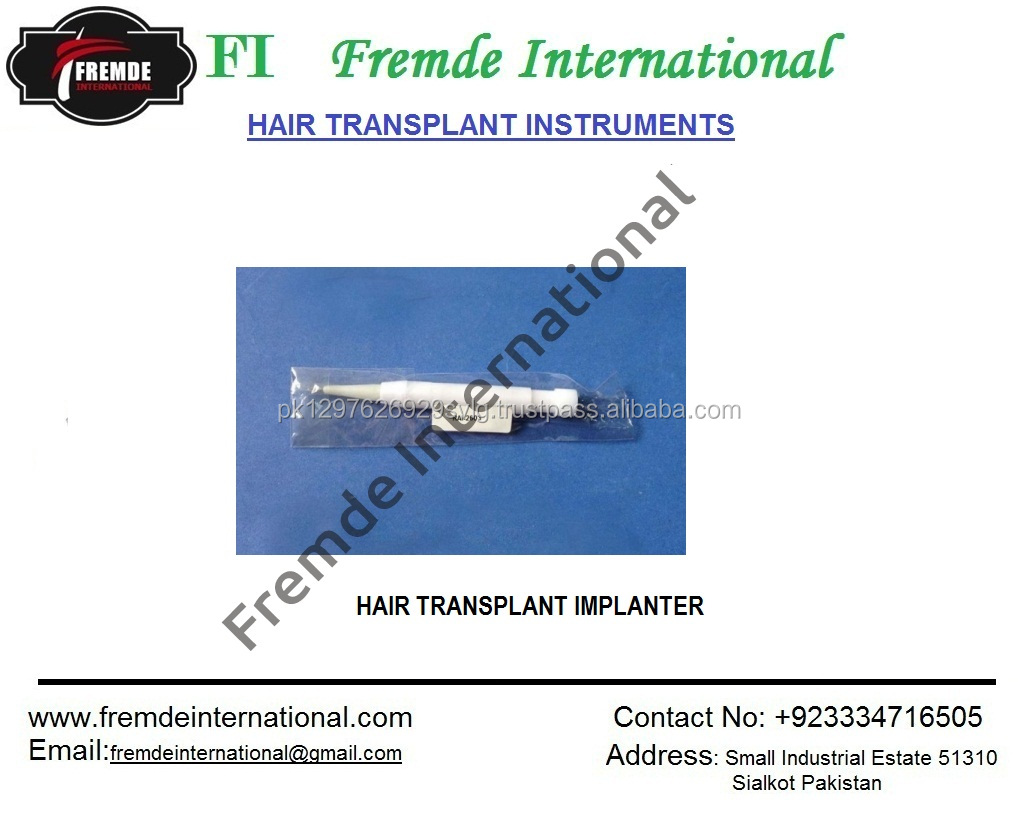 Hair Transplant Implanter Pakistan Manufacturing Company Certified By Ce -  Buy Plastic Manufacturing Companies,Hair Transplant Implanter,Hair