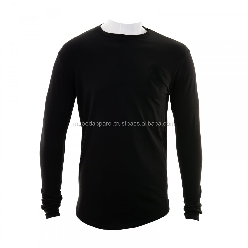 57504080 long sleeve gym custom fitness t shirts blank tight seamless silm fit mens  jumper