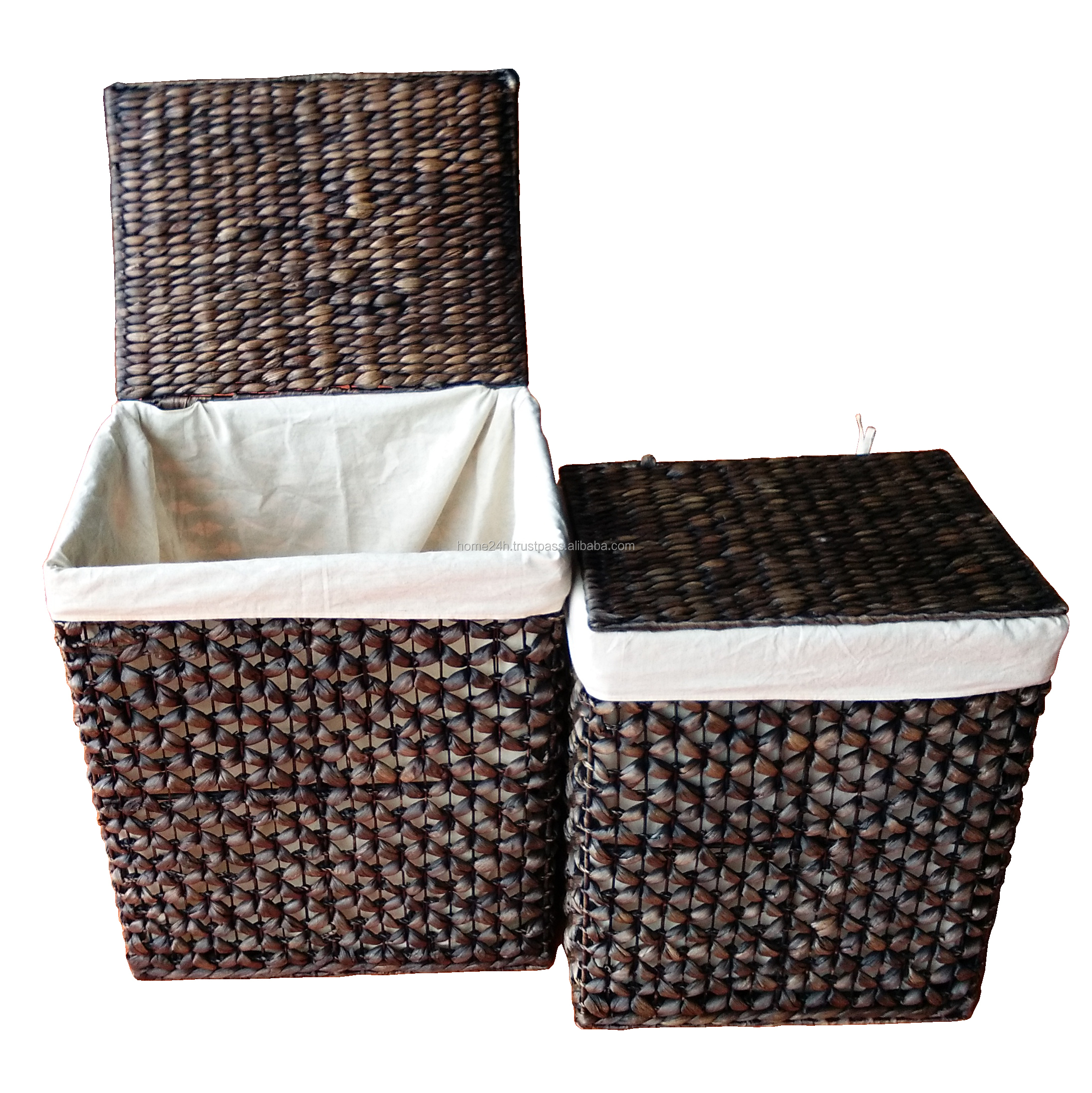 Water Hyacinth Wicker Dark Color Laundry Hamper Baskets With Lids Buy Wok Logs Basket Natural Log Basket Water Hyacinth New Product Home Basket Handmade Willow Baskets For Sale Product On Alibaba Com