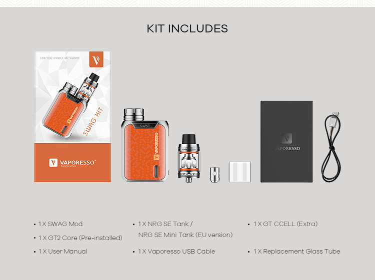 New Arrival Palm Size Fits Pocket And Hand Vaporesso Swag Kit - Buy  Vaporesso Swag Kit Eu Edition,Vaporesso Swag,Vaporesso Swag Kit Product on