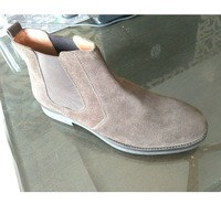 MEN'S SUEDE LEATHER CHELSEA GENTS ANKLE BOOTS ON TPR SOLE