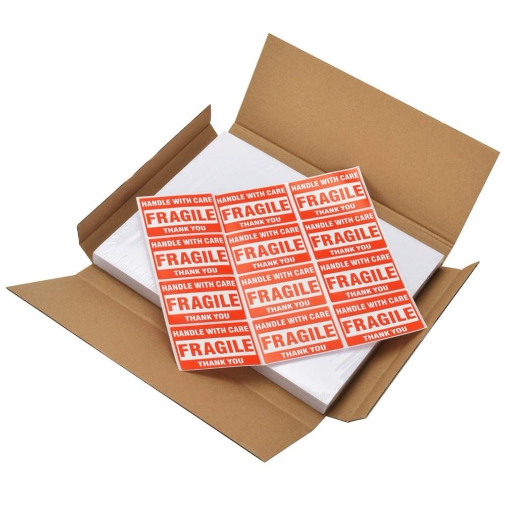 Jinbar Half Sheet Self Adhesive Shipping Labels For Laser & Inkjet  Printers,200 Count - Buy Label For Inkjet And Laser Printers,Shipping Label