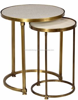 Fantastic Maison Object Style Stool Side Table With Resin Glass Wooden Top Bottom Round Shape Gold Brass Copper Bronze Shade Buy Mediterranean Style Side Machost Co Dining Chair Design Ideas Machostcouk
