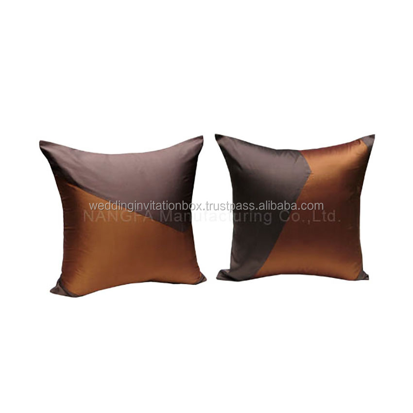 Thailand Elegant Style Silk Cushion Cover and Pillow Cases