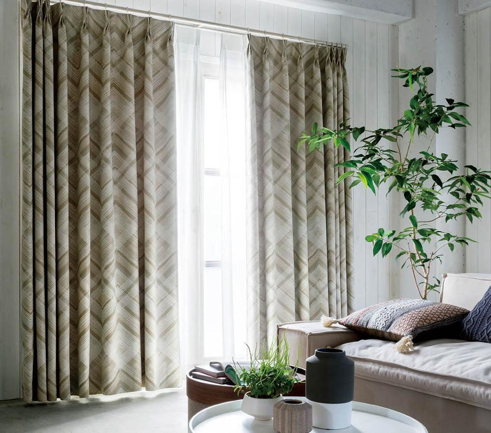 Blackout Curtain AZ8361 AZ8362 , Edge Design , Sincol, Made in Japan
