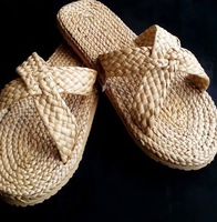 Thailand's Best Selling Hotel Amenities & Spa Handmade Seagrass Slipper