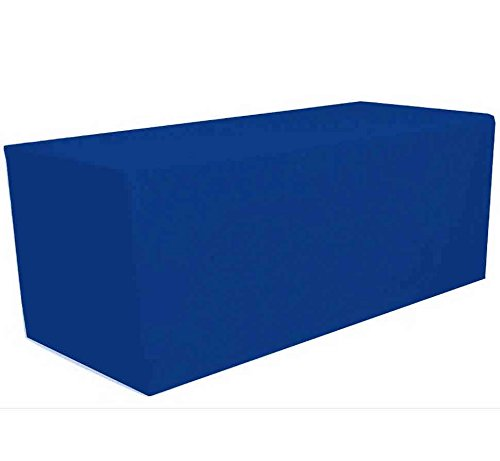 4u0027 Ft X 2.5u0027 Ft Fitted Polyester Tablecloth Rectangular Table Cover Wedding  Banquet Party