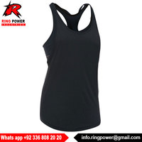 Weight Lifting Stringer Vest 100% Cotton Gym Tank Top Women fitness - Women Singlet