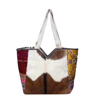 bc708a7411 Banjara Style Goat Leather Bag