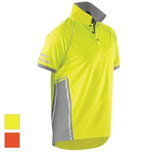 mens workwear polo hi vis shirts