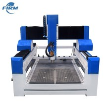 China Leverancier 4 Axis 5 Axis Steen Cnc Router Machines met Blade