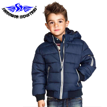 Kids Navy Winter Hoodies Jacket Thick Casual Keep Warm Jacket,Short Design Warm Children Puffer Down Jacket,2019 Wholesale Pakis