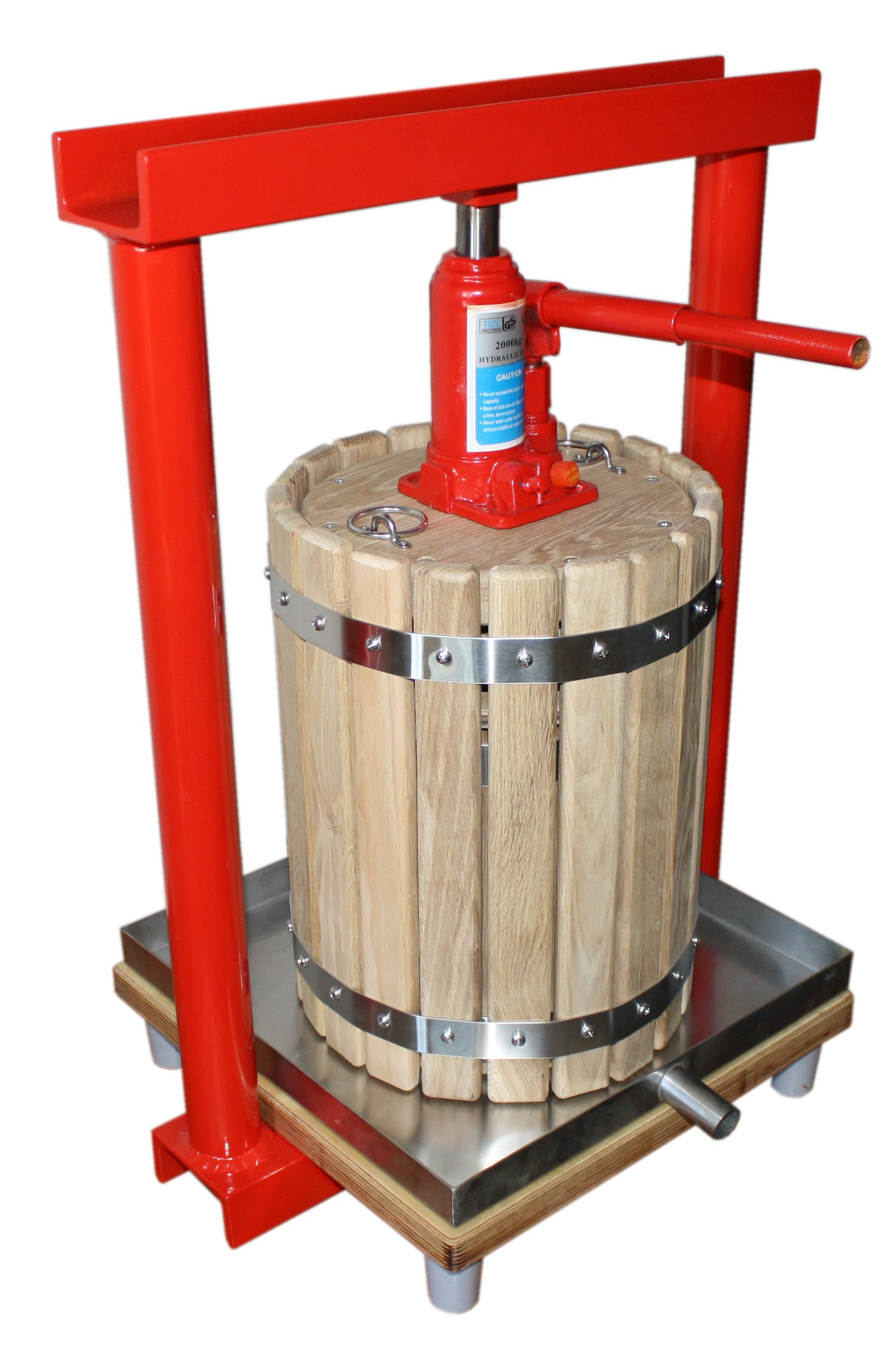 Hydraulic press GBP-12 - juicer for apples, grapes, berries, fruit, wine, cider