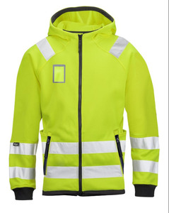 Hi Vis Workwear Jackets Micro Fleece Hood Workwear Jackets/workwear cotton jackets