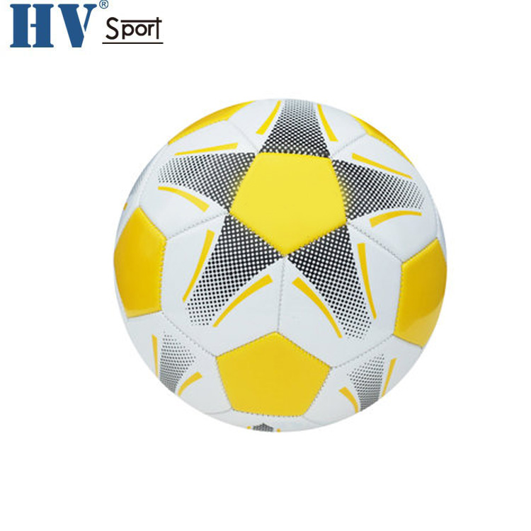 Custom Printing logo Soccer Ball Training Match PVC Football