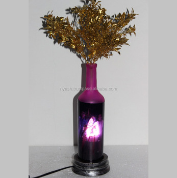 Personnalise Image Photo En Verre Nuit Floral Lampe Buy Photo Nuit