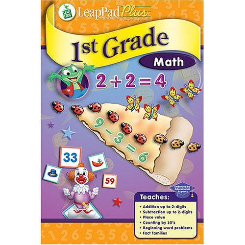 LeapPad Plus Writing 1st Grade Math Book: The Time Machine Adventure