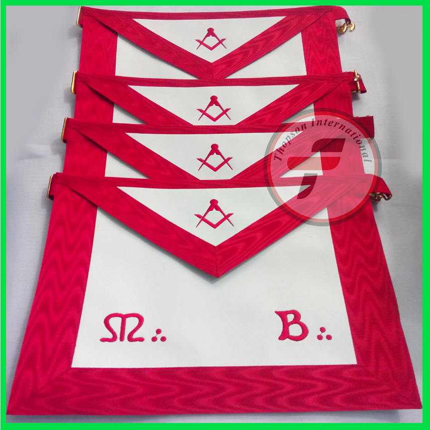 Masonic french rite MB apron