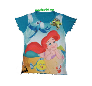 wholesale india tirupur cartoon printed Tops wholesale teen girl boutique girls clothing clothes girls kids t shirt